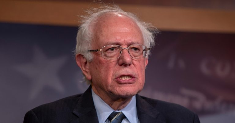 Bernie Sanders Calls Climate Change 'Biggest Crisis of All,' Silent When Asked About Private Jets