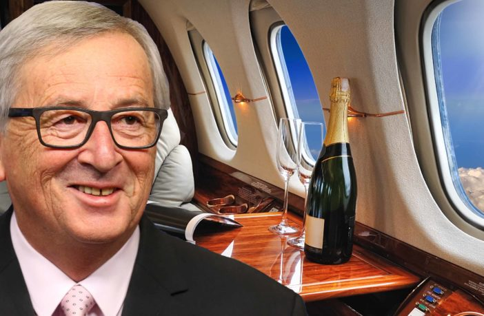 JETSETTING: EU President Juncker Uses Private Jets And Milks Expenses | Politicalite UK | Unreported News, Politics and Opinion