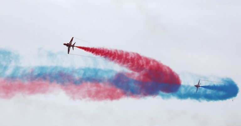 Clacton Airshow: Exact times of Red Arrows flight and display in Essex – Essex Live