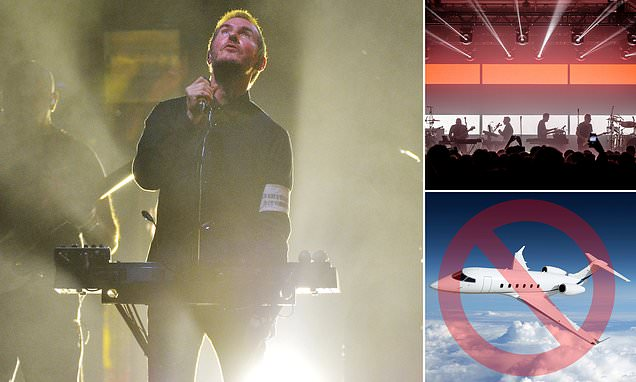 Music: Artists and bands must swap private jets for trains to cut their climate impact, study warns   Daily Mail Online